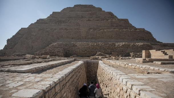 Djoser Pyramide,Reise,Tourismus,Ägypten